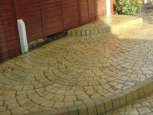 Imprinted Concrete Patios